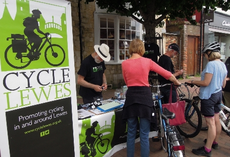 Cycle Lewes Stall